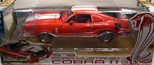 GREENLIGHT 1:18 SCALE DIECAST METAL RED AND WHITE 1978 FORD MUSTANG II COBRA