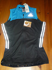 ADIDAS LADIES CYCLE SLEEVELESS JERSEY SUPERNOVA SIZE LARGE BNWT