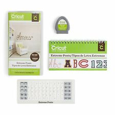 Cricut Everyday Die Cut Cartridge, Extreme Fonts , New, Free Shipping