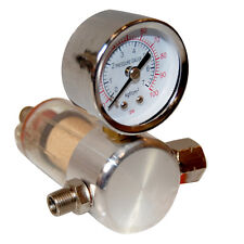 Airbrush Compressor Air Pressure Regulator Gauge Filter Bleeder Valve, Diaphragm