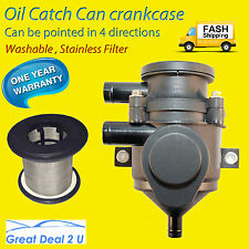Oil Catch Can Pro Vent Crankcase 100KW Series Stainless Filter Element Separator
