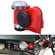 12V Snail Compact Dual Tone Electric Pump Air Horn Compressor Truck SUV Boat Car