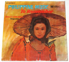 Philippines RELLY COLOMA Philippine Music To Remember OPM LP Record