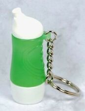 Tupperware Green Sports Bottle Keychain - RARE!!