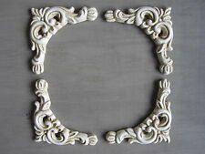 FOUR  DECORATIVE CORNICE MIRROR/  FURNITURE/ FIREPLACE MOULDINGS
