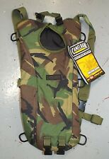 WOODLAND CAMO HYDRATION CAMELBAK CASE ONLY - no water bladder , British army