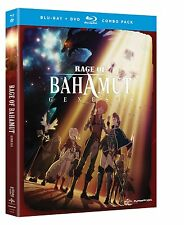 Rage Of Bahamut Genesis . The Complete Series . Anime . 2 DVD + 2 Blu-ray . NEU