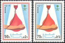 Saudi Arabia 1988 Blood Donation/Donors/Medical/Health/Welfare 2v set (n28951)