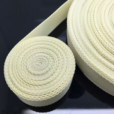 New Hot 50 Yards Length 38mm Wide Cream Strap Nylon Webbing Strapping
