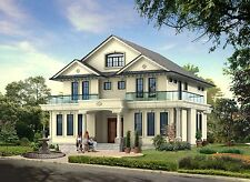 3D Rendering Service-Oblique Angle of a House, Limited Time Offer!