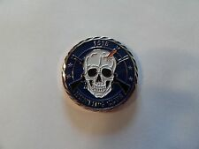 CHALLENGE COIN ISIS HUNTING CLUB NIGHTMARE NO KILL LIMITS SKULL CROSS RIFLES WOW