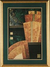 """Abstract Art Print """"ELEVATIONS I"""" by Steven Norte"""