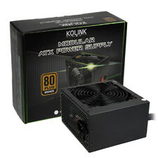 KOLINK 80 PLUS BRONZE KL-600M 600W 37.5A PCI-E MODULAR ATX PSU POWER SUPPLY UNIT