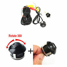 2 pcs 360°Rotatable 170° Wide Angle Car Front/Rear View Back Up Reversing Camera