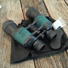 Day/Night 30X50 Ruby Lens Binoculars Black/Green w/Pouch by Perrini 8036