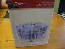 7 Gypsies Clear Stamp Storage Revolving Holder with 20 Sleeves