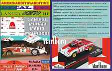 ANEXO DECAL 1/43 LANCIA STRATOS SANDRO MUNARI RALLY SANREMO 1974 WINNER (03)