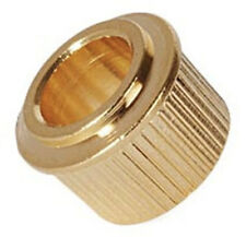 "Guitar Machine Head/Tuner Converter Bushes -  10.5mm to 1/4"" - Set of 6 Gold"