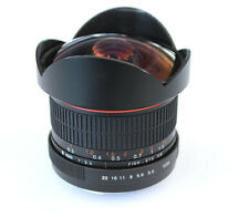 8mm F3.5 HD Fisheye Len for Canon 5D 5DII 5DIII 6D 7D 1DS 600D 550D 1100D 1000D