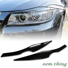 BMW E90 Sedan Eyelids Eyebrow Headlight Cover 2006-2011 318d 325i 330i 3-Series