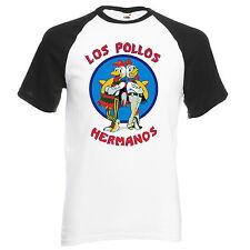 Los Pollos Hermanos Chicken Breaking Bad Tshirt Top Unisex Tee Walter Heisenberg
