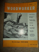 Woodworker March 1962 ~ Retro Vintage Illustrated Magazine + Advertising