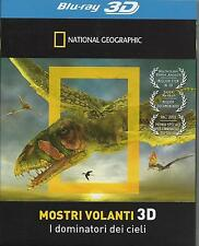 National Geographic. Mostri volanti 3D (2012) Blu Ray