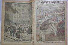 LA DOMENICA DEL CORRIERE 17 Febbraio 1924 Cinema Sahara Incendio Winnipeg Capri