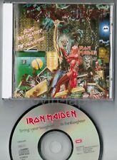"IRON MAIDEN Bring Your Daughter JAPAN 3-track 5"" CD TOCP-6572 w/PS BOOKLET FreeS"