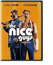 The Nice Guys DVD NEW 2016 Russell Crowe Ryan Gosling Comedy SHIPPING NOW !!