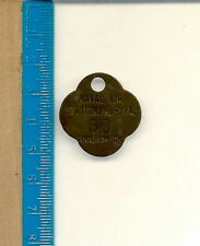 AI-039 - U.S. Naval Air Station, H.R. VA (Virginia) Tool Check RARE WWII Vintage