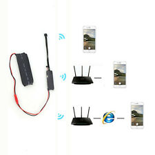 Wifi IP Wireless DIY Module HD Camera Spy Hidden Home Security For Android iOS