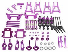Upgrade Parts Package For HSP RC 1:10 Electric &Nitro On-Road / Drift Car Purple