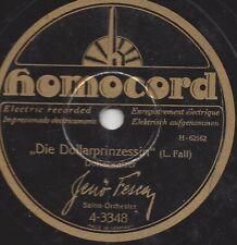 Orchester Jenö Fesca spielt Walzer : Wiener Praterleben + Die Dollarprinzessin