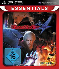 Playstation 3 Spiel: Devil May Cry 4 PS-3 Essentials Neu & Ovp