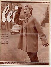 rivista LEI ANNO 1953 NUMERO 38