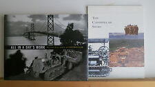 Caterpillar Tractor 2 Book Lot: All in a Day's Work & The Caterpillar Story