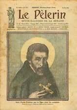 Saint Pierre/Peter Canisius par Leo Samberger Painter Germany 1925 ILLUSTRATION
