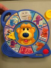 Super RARE 1997 Bear In The Big Blue House See'n Say See N Say