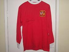 Denis legge Firmata Manchester United FC 1963 FA CUP FINAL SHIRT