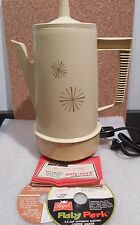 REGAL 4 - 8 CUP POLY - PERK PLASTIC ELECTRIC COFFEE PERCOLATOR