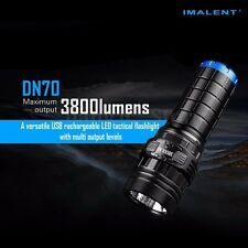 IMALENT DN70 XHP70 3800LM 26650 LED Flashlight Tactical Rechargeable Lighting