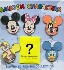 Disney Pin: WDW Character Balloons Mystery Pin Collection 6-Pin Packet