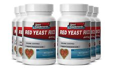 Red Rice - Organic Red Yeast Rice 600mg - Reduce Levels Of Bad Cholesterol 6B
