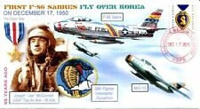 COVERSCAPE computer designed 65th anniversary 1st F-86 Sabres over Korea cover