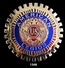 CAR  GRILLE  EMBLEM BADGES - AMERICAN LEGION
