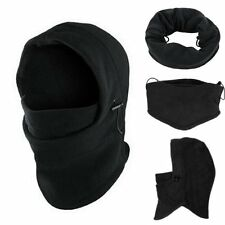 Thermal Fleece Balaclava Winter Ski Outdoor Sports Full Face Neck Mask Hat Cap
