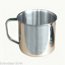 1 Pcs Cute Stainless Steel Camping Mug Cups Coffee Tea Milk Cup Of About 8.5 Oz