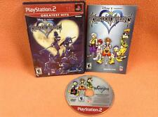 Kingdom Hearts Playstation 2 PS2 Game Fast FREE SHIP Complete CIB!