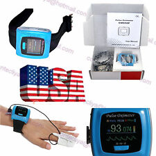 USA FDA Watch Pulse Oximeter USB Wrist SPO2 Pulse 24Hours Overnight Sleep Study
